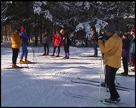 Cross Country Ski Lesson